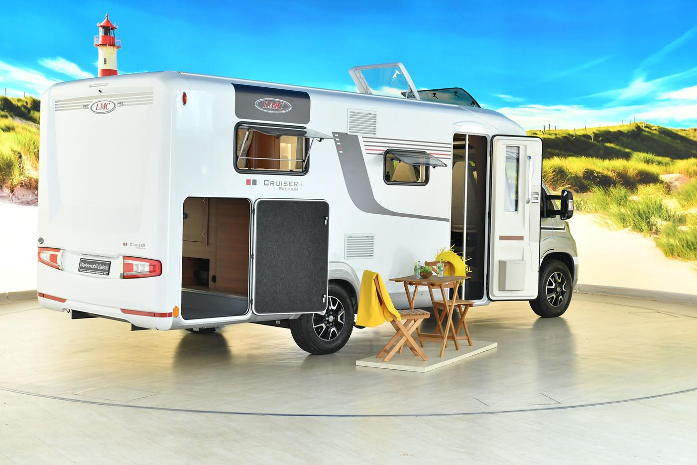 LMC - Cruiser Premium T 661 G - MJ 2019, Einzelbetten | buy used